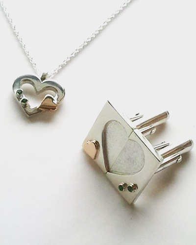 Heart and heart Cufflinks and Pendent.jpg