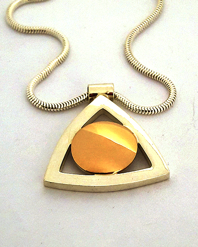 Rose Gold Pendent, Sterling Silver Large.jpg