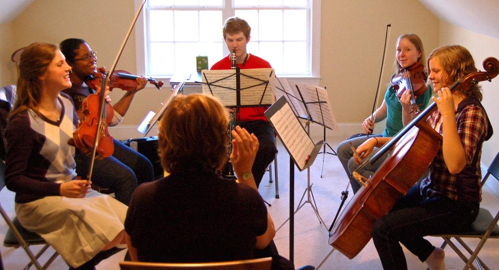 Sarah and Mozart clarinet.JPG