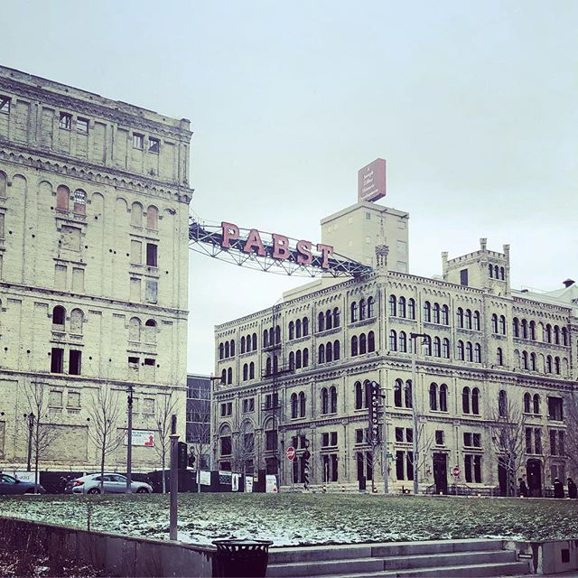 The former Pabst Brewery. #milwaukee #pabst #realestate #creamcitybrick #redevelopment