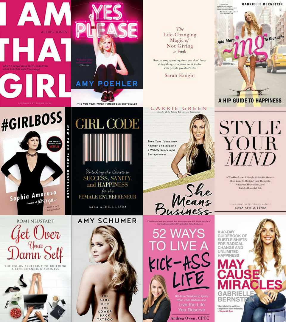 100 BOOKS EVERY WOMAN MUST READ - SIGN UP AND GETTHE LIST FOR FREE!