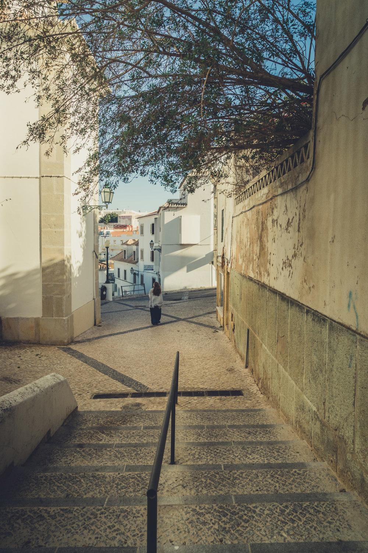 Side Street in Albufeira. walking the streets of albufeira..jpg