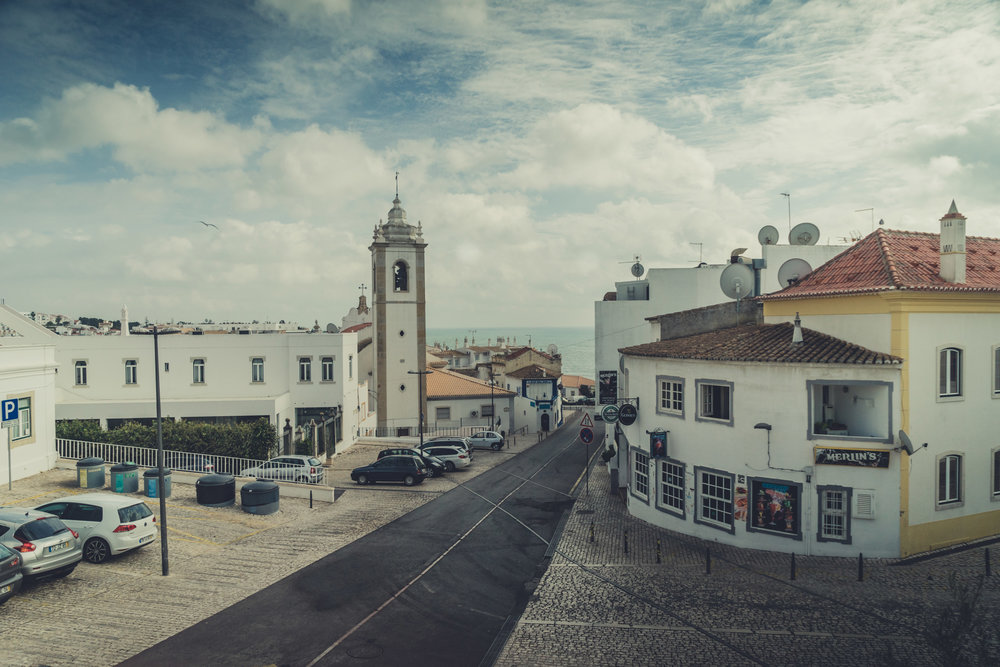 street overview in the old town center in albufeira..jpg