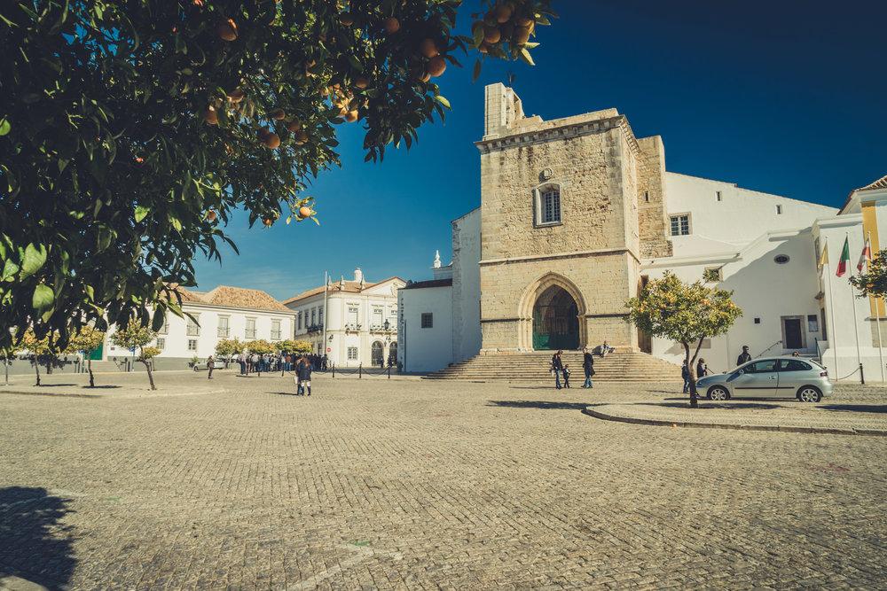 Cathedral of Faro. faro in the algarve. old town faro.jpg