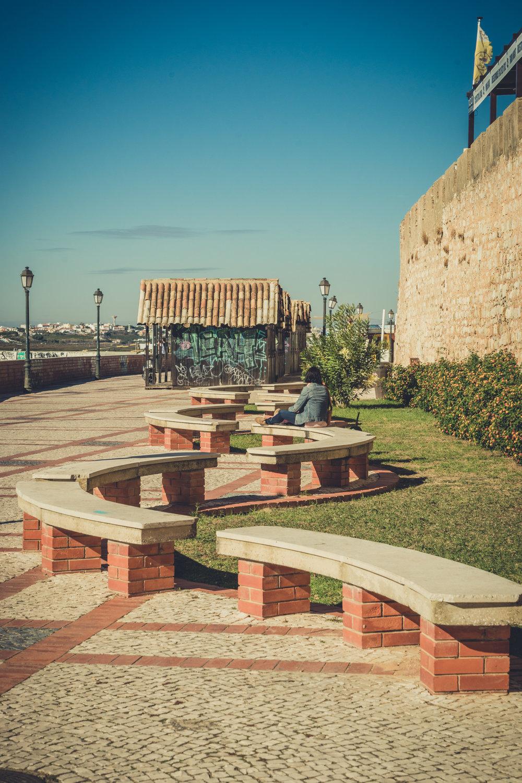 Sea front in Faro. Boardwalk in Faro. Faro in the Algarve.jpg
