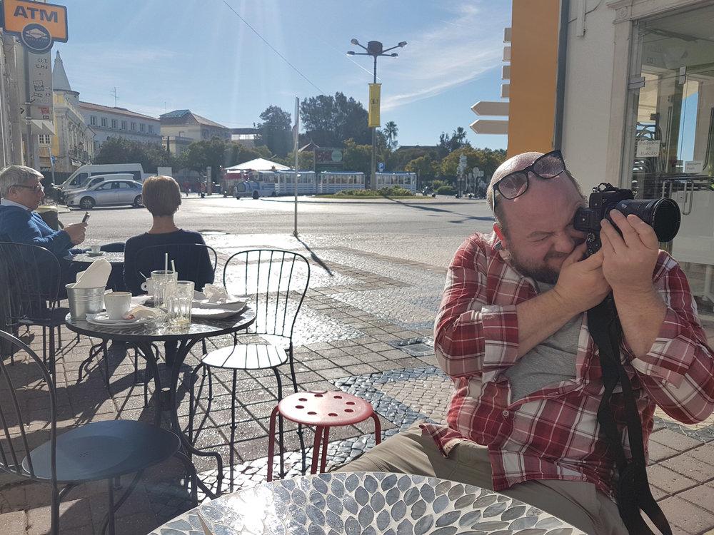 Taking pictures of the street. Faro. Algarve..jpg