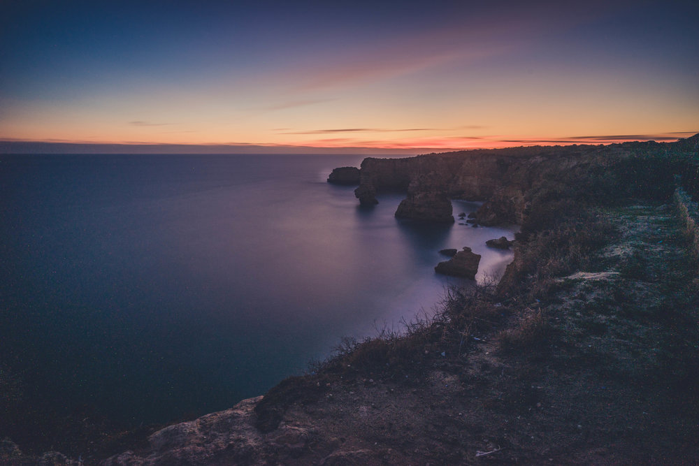 Marinha Beach. Seven Hanging Valleys Walk. portugal. algarve. beach. cliffs. tavel. caves. sunset over the beach.jpg