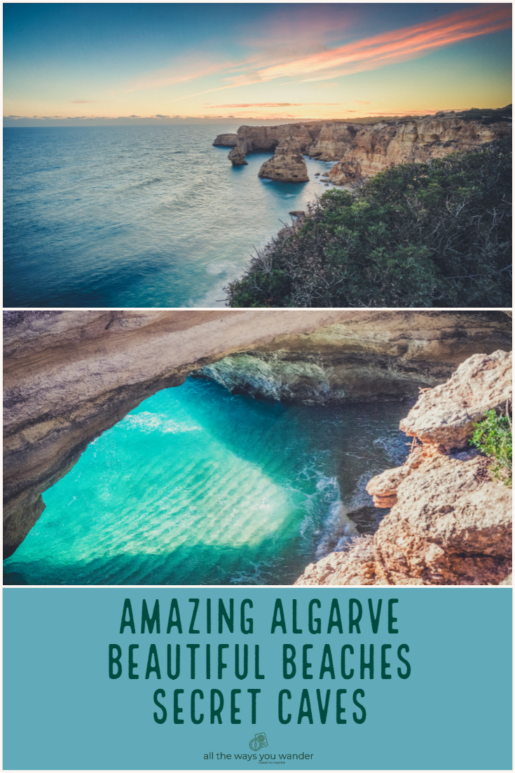Highlights of the Algarve Coastline Benagil Caves Marinha Beach.jpg