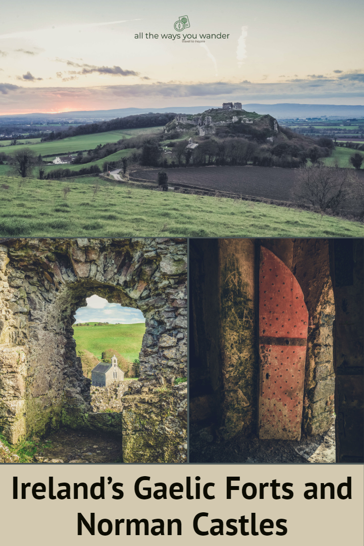 Ireland's Rock of Dunamase and Ballyadams Castle.jpg