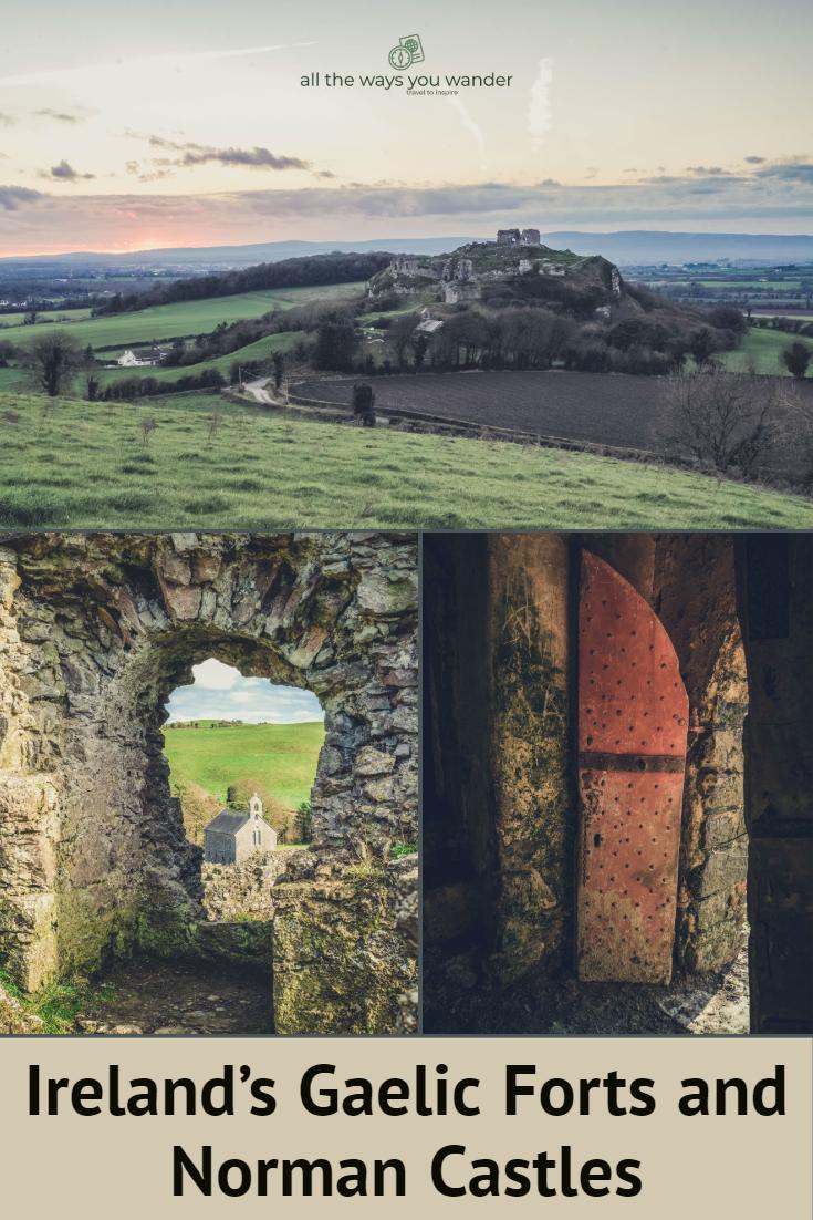 Ireland's Rock of Dunamase and Ballyadams Castle.jpg