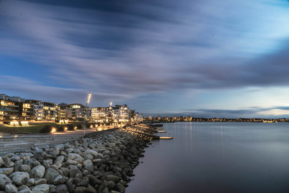 malmo. sweden. travel. scandinavia. history. viking. city. old. travel blog. palace. old town square palace. malmo blue hour. turning torso. city view.jpg