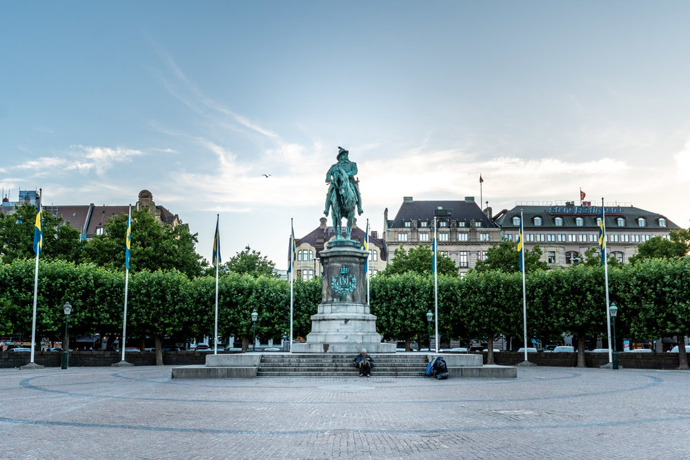 malmo. sweden. travel. scandinavia. history. viking. city. old. travel blog. old city square. the king.jpg