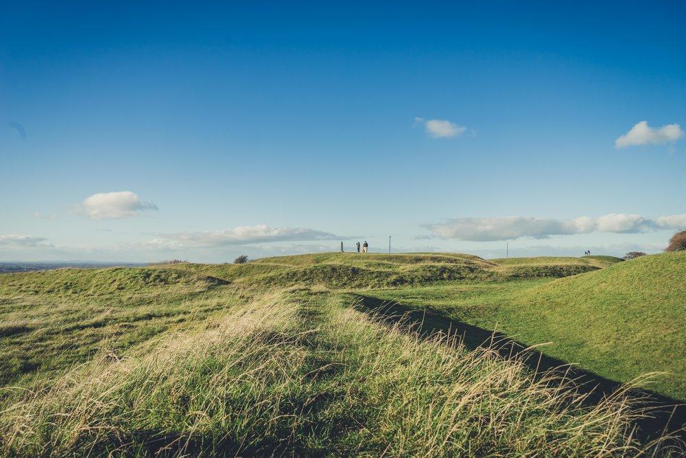 Hill of tara. ireland. history. irish. golden light. travel. blog. autumn. colour. celtic. gaelic. feilds of tara.jpg
