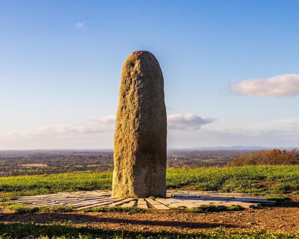 Hill of tara. ireland. history. irish. golden light. travel. blog. autumn. colour. celtic. gaelic. tara standing stone.jpg
