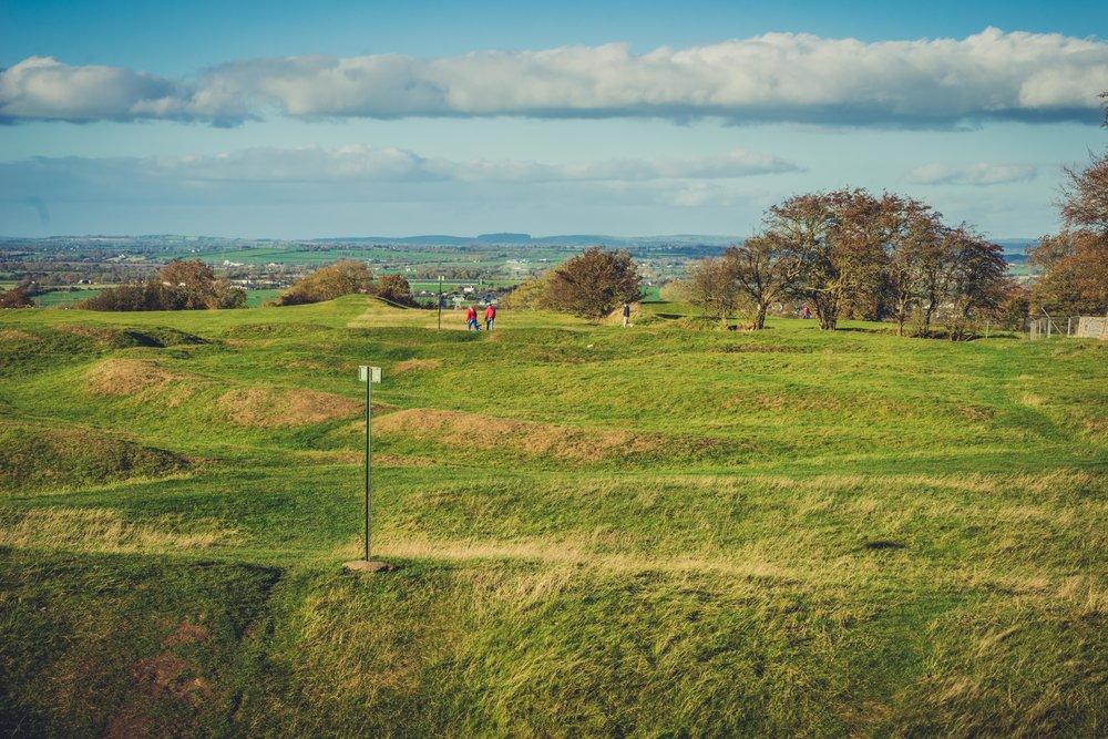 Hill of tara. ireland. history. irish. golden light. travel. blog. autumn. colour. celtic. gaelic. rolling hills of ireland.jpg