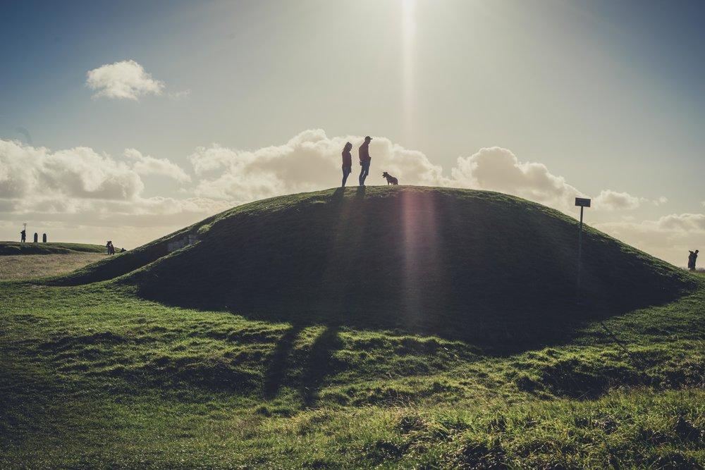 Hill of tara. ireland. history. irish. golden light. travel. blog. autumn. colour. celtic. gaelic. standing in light.jpg