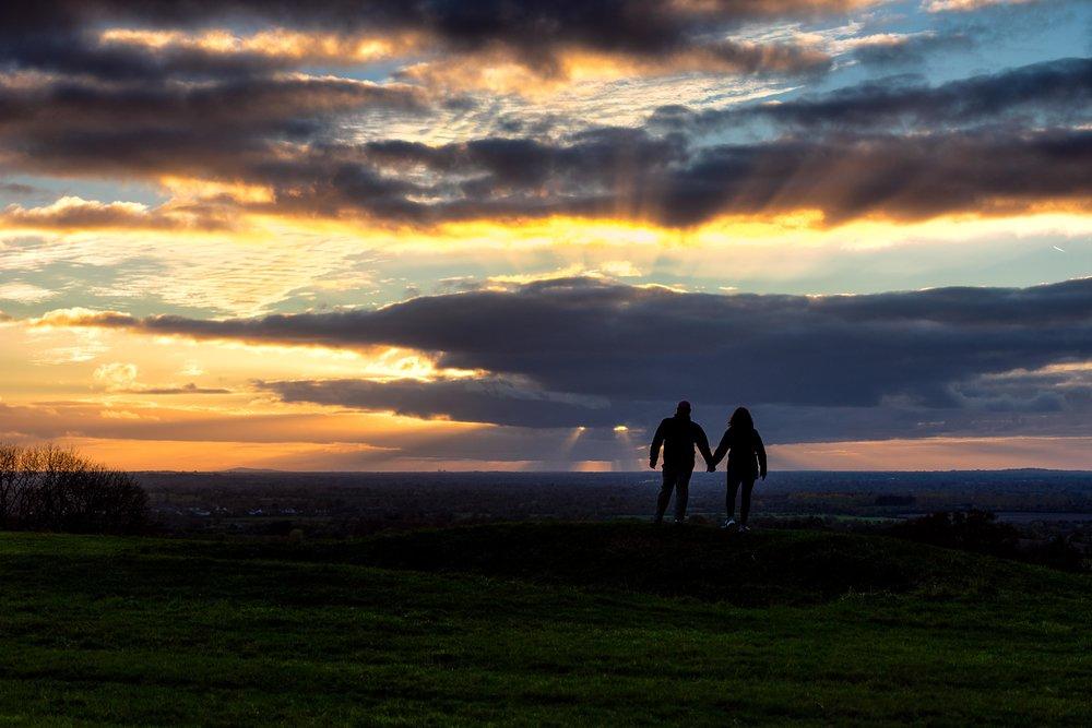 Hill of tara. ireland. history. irish. golden light. travel. blog. autumn. colour. celtic. gaelic. standing in the sunset. golden light all over us.jpg