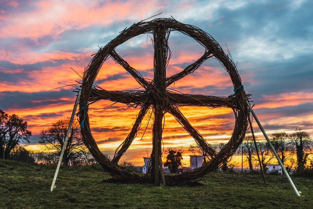 Tlachtga. hill of ward. ireland. irish. history. halloween. druid. wheel in the sunset.jpg