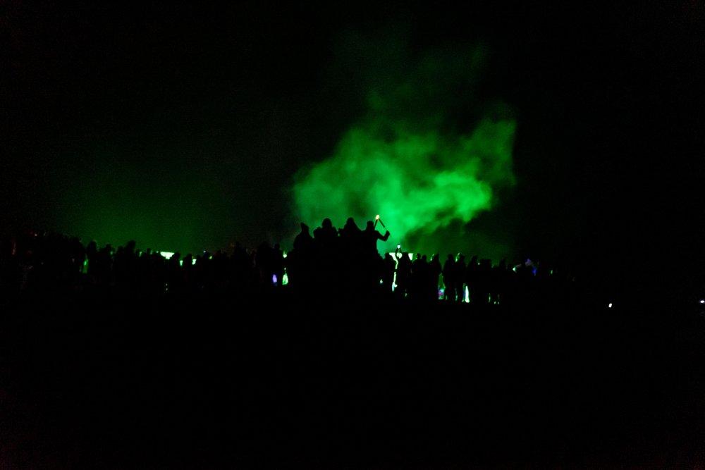Tlachtga. hill of ward. ireland. irish. history. halloween. druid. standing in the green smoke.jpg