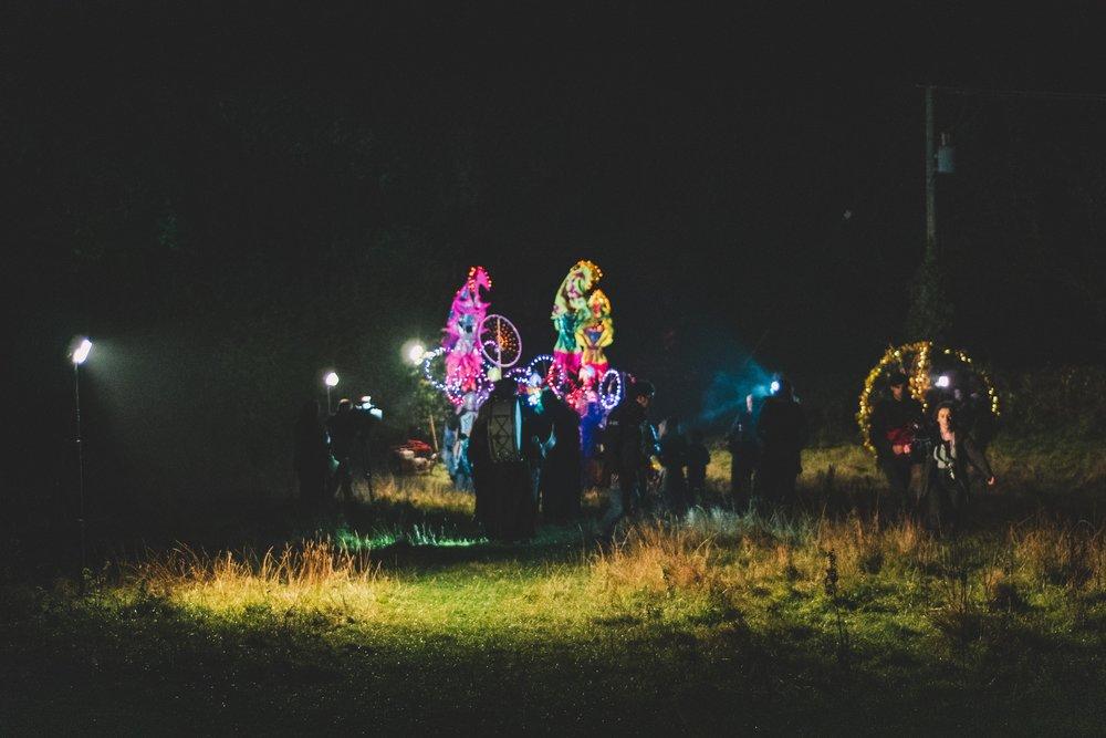 Tlachtga. hill of ward. ireland. irish. history. halloween. druid. walking with drums.jpg