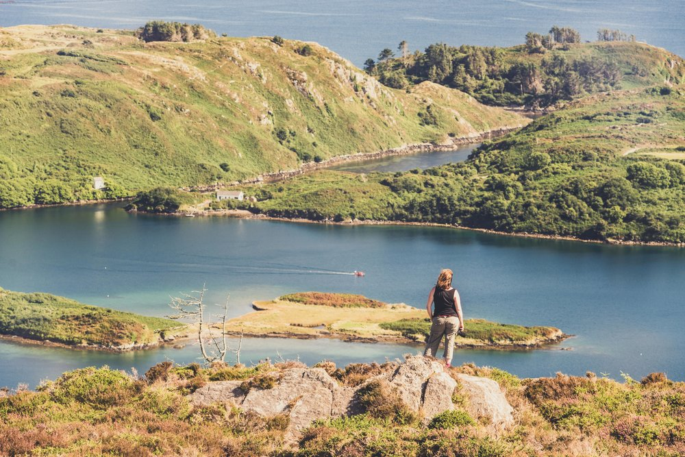 county cork. cork. ireland. irish. history. city. house sitting. old. travel. travel photography. travel photographer. lough hyne. hiking. outdoor. adventure. hiking. over looking the lake.jpg
