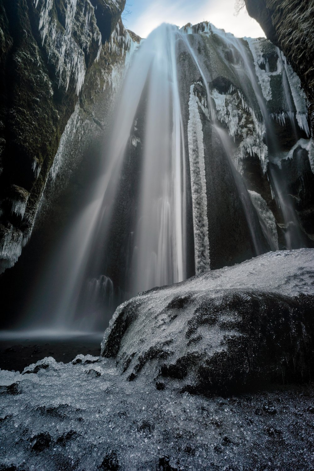 Iceland. snow. travel. adventure. photography. trip. epic landscape. snow. cold. freezing. sunrise. hidden waterfall.jpg