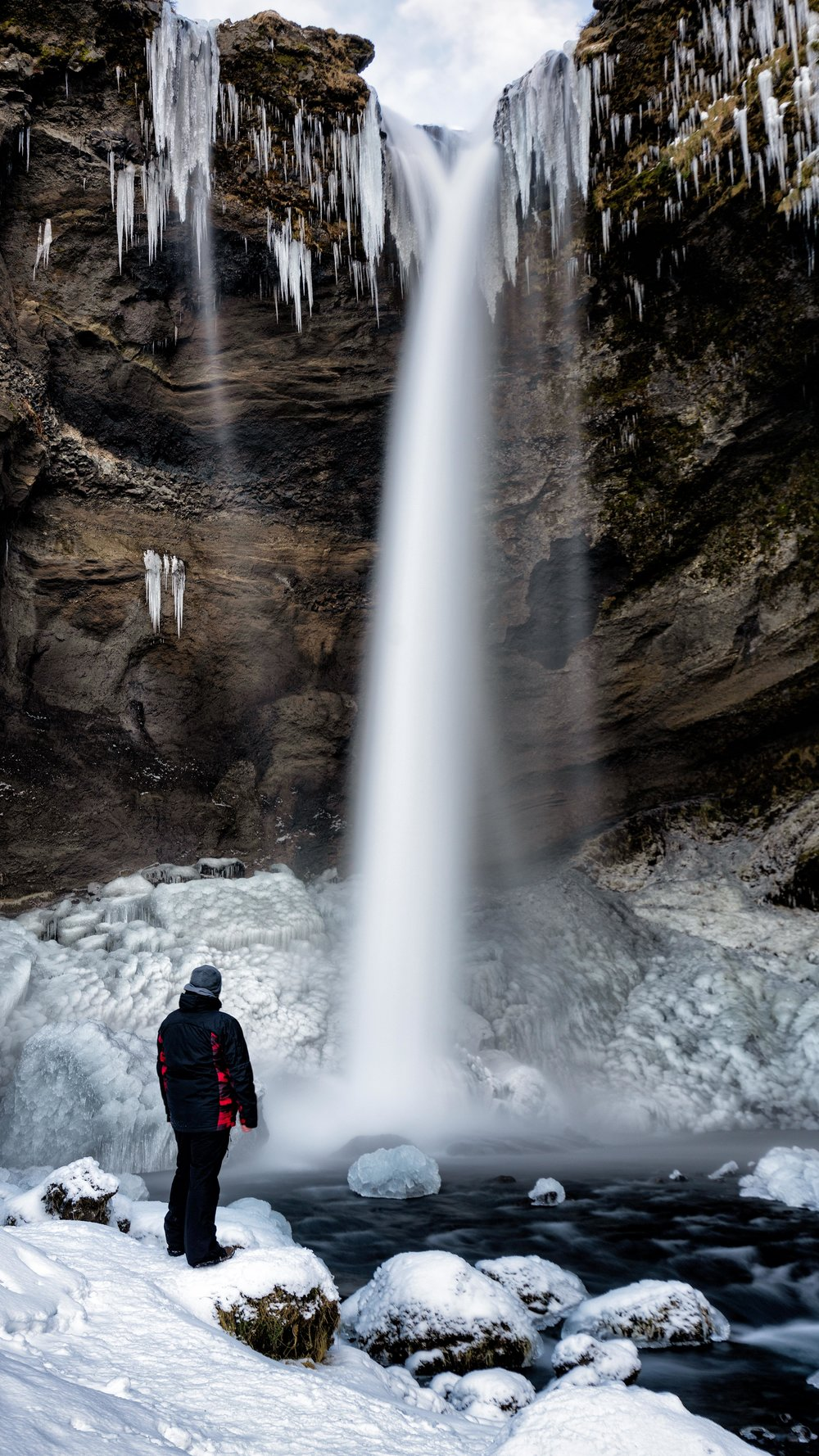 Iceland. snow. travel. adventure. photography. trip. epic landscape. snow. cold. freezing. sunrise. waterfall fun times.jpg