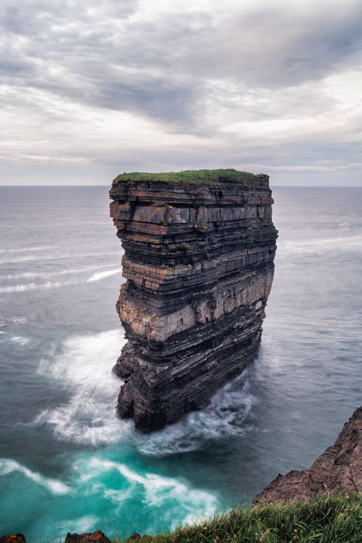 Sea stack off Ireland's West Coast