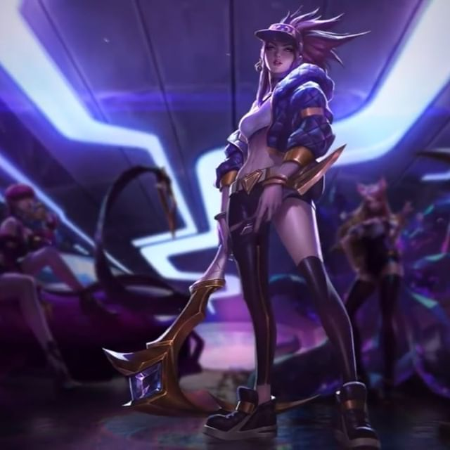 K/DA - POP/STAR - Login & Group Splash  Awesome animated Login Screen by Greg Platt. (Kungfu Gopher on YouTube)  Teamed up with @chengweipan_art @chenbowow to create these splashes.  Swipe to see final group splash, and an example of how it was utilized! 👉  #KDA #ahri #kdaahri #popstarahri #Popstars #Skins #popstarskins #leagueoflegends #Lol #riot #riotgames #ritopls #worlds2018 #gidle #miyeon #soyeon #madisonbeer #jairaburns #fortiche #splash #splashart #riotillustration #alvinlee #alvinleeart #login #loginscreen