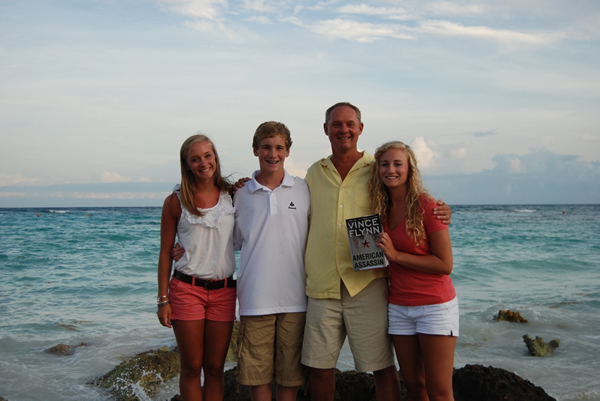 Shawn and His Family - Playa del carmen Mexico.jpg