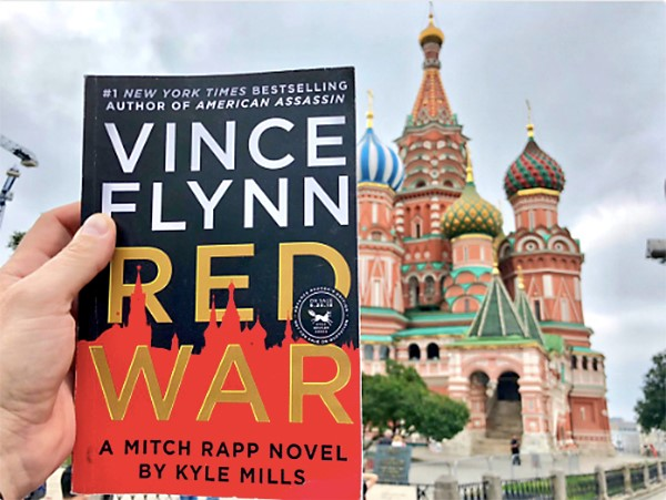 The best fan pic of Red War on location in Russia. Photo: @ProductPoet