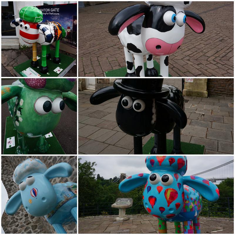 Championsheep, Buttercup, Flora, Isambaaard, A Sheep's Eye View, and Baa-lloon!