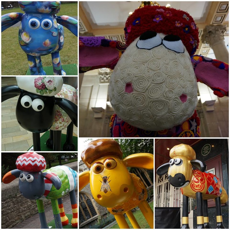 Lily, Cecilia, Knitwit, Woolly Wonderland, Honey, and BAA-WULF.