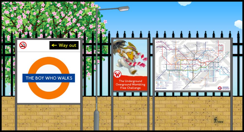The Underground Overground Wombling Free Challenge