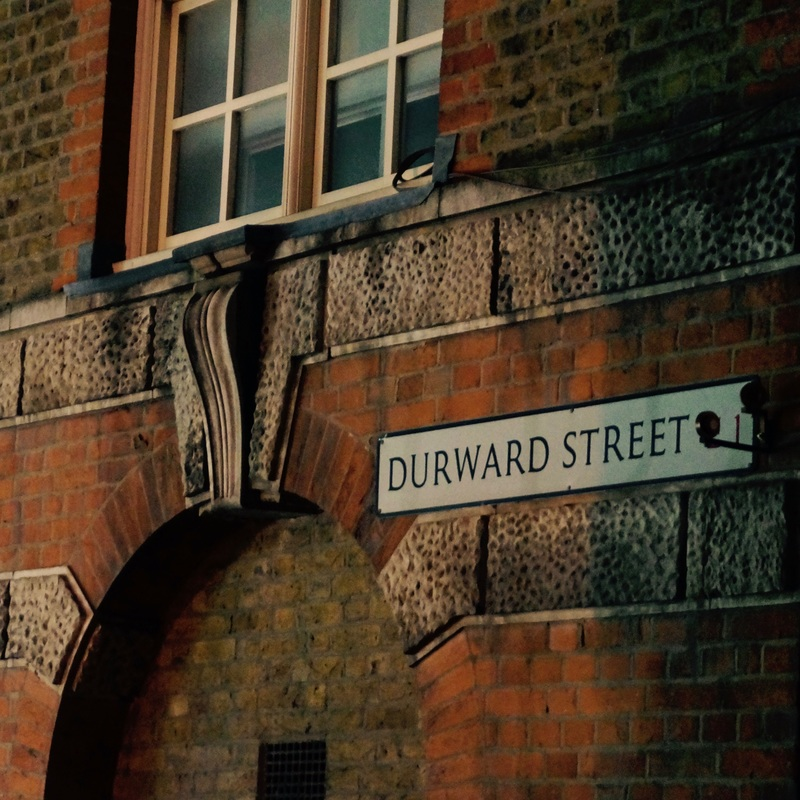 Durward Street (Victim 1)  Known then as Buck's Row the body of Mary Ann Nichols was found on August 31st at around 03:40. She was the first known victim of Jack the Ripper.