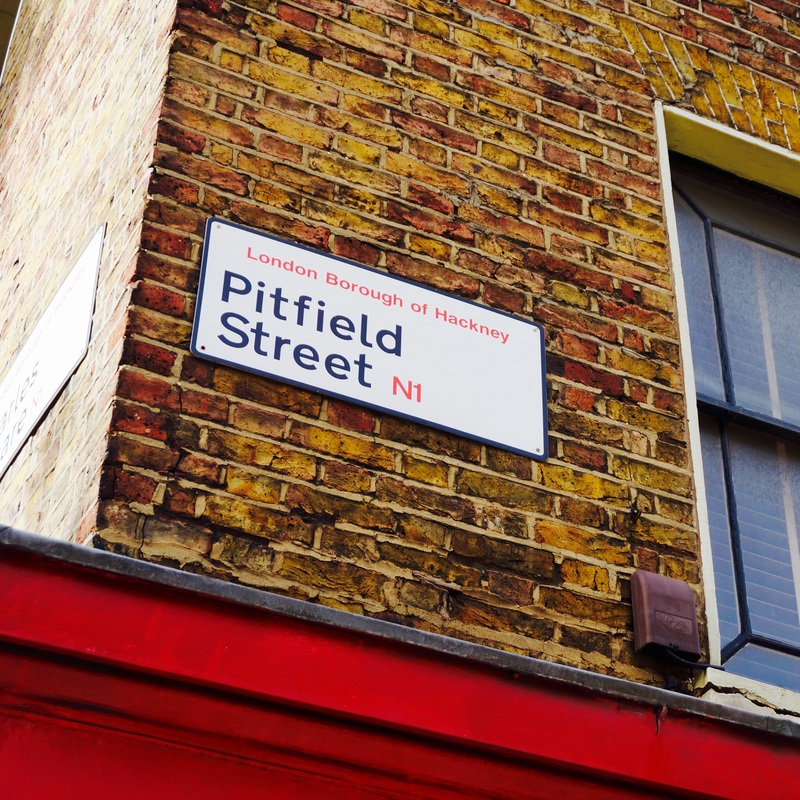 Pitfield Street  Site of a large plague pit dating from 1665-1666 - guess the street name says it all for this one.