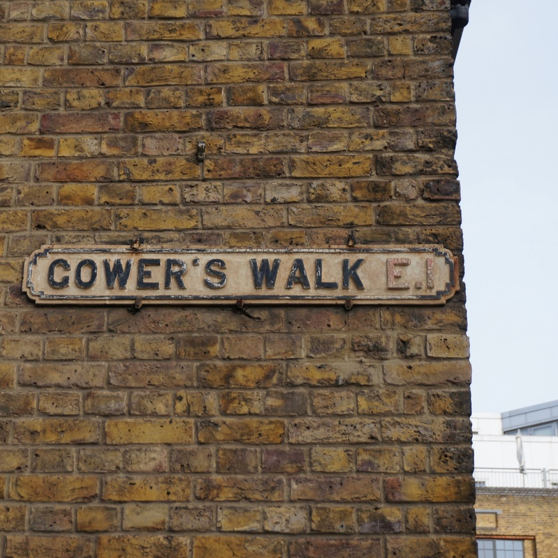 Gower's Walk Pest Field  Site of thousands of plague burials.