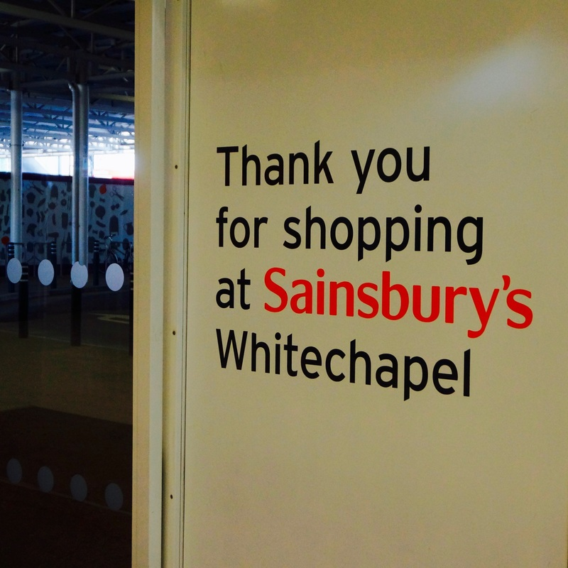 Sainsbury's Whitechapel  It is locally rumoured to be the location of a large Great Plague burial pit.