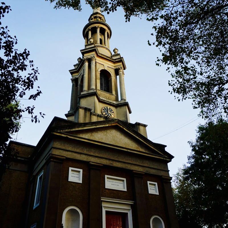 St Paul's, Shadwell  One of five Stepney plague pits, used between 1664-1666.