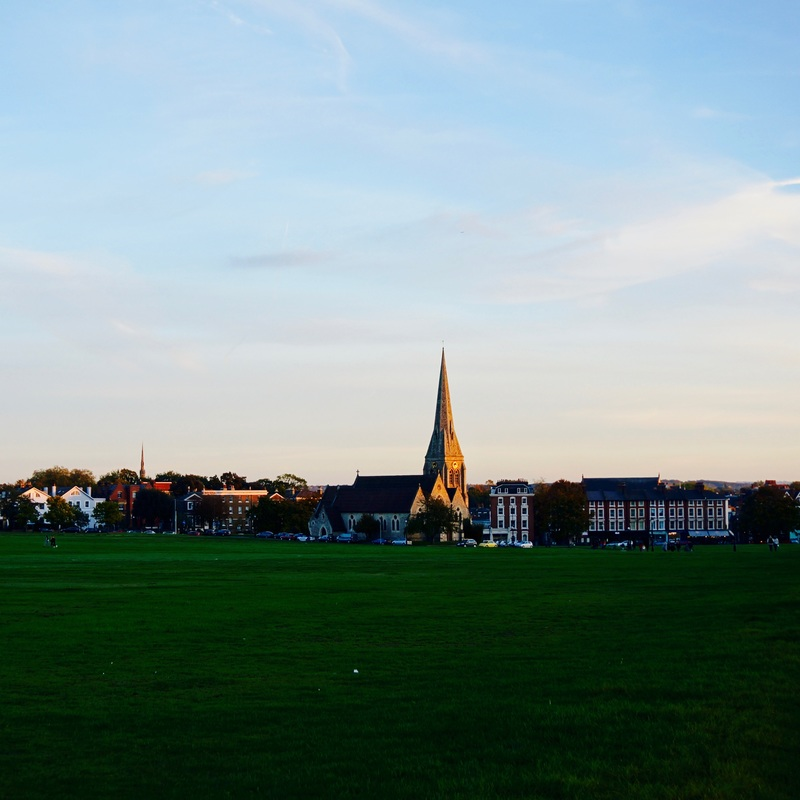 Blackheath  It is a myth that Blackheath was named as such because of the Black Death, the name is recorded in 1166 as  Blachehedfeld  and means 'the dark coloured heathland', but it was almost certainly used to bury bodies during the earlier pandemic period and during the Great Plague.