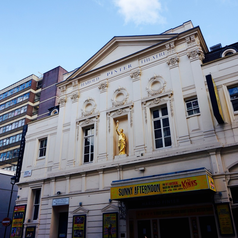 Harold Pinter  Established in 1881 as the Royal Comedy Theatre, it was known as just the Comedy Theatre by 1884. The theatre was designed by Thomas Verity and built in just six months. It as been known as the Harold Pinter Theatre since 2011.