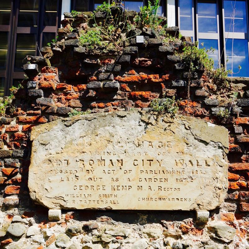 St Alphege City Wall
