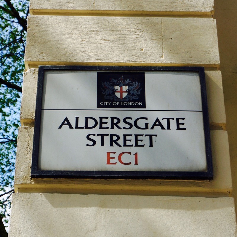 Aldersgate Street, EC1