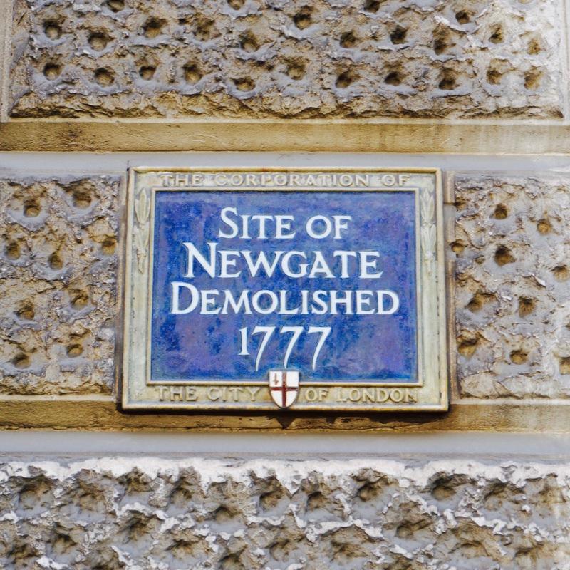 Site of Newgate Demolished 1777