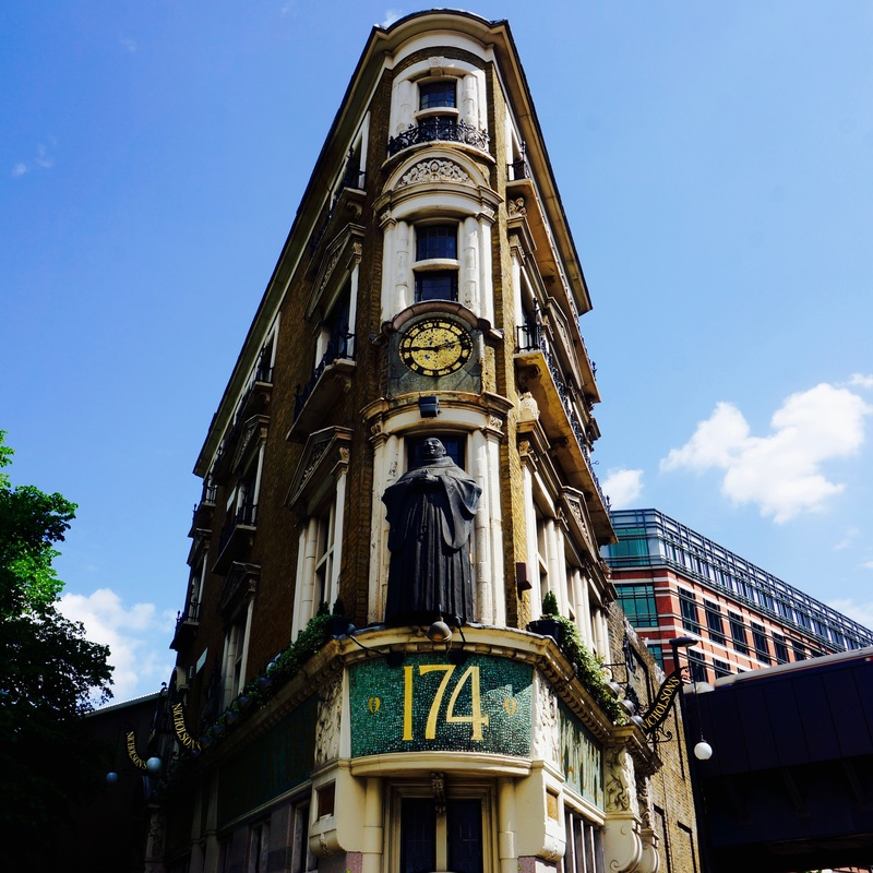 The Black Friar, EC4V  The Black Friar was built in about 1875 and remodelled in about 1905 by architect Herbert Fuller-Clark, with much of the internal decoration by sculptor Henry Poole. It is Grade II listed and on CAMRA's National Inventory of Historic Pub Interiors.
