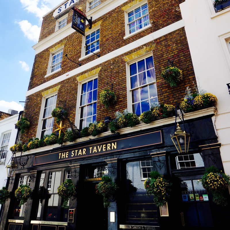 The Star Tavern, SW1X  The Star Tavern won infamy during the fifties and sixties as the hangout for London's inner circle of master criminals, most notably being the place where most of the planning was done for the Great Train Robbery.