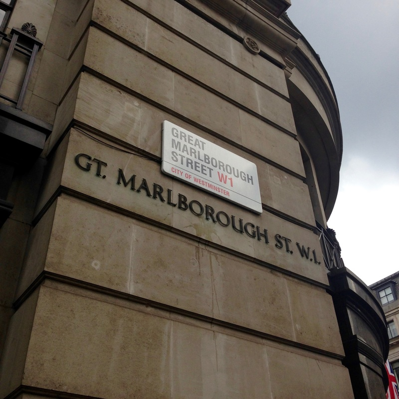 (Great) Marlborough Street