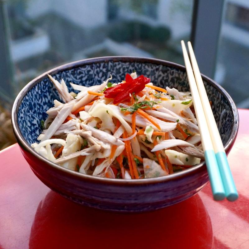 Vietnamese Glass Noodle Salad