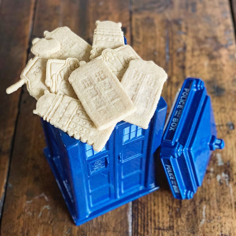 Dr Who Shortbread.JPG