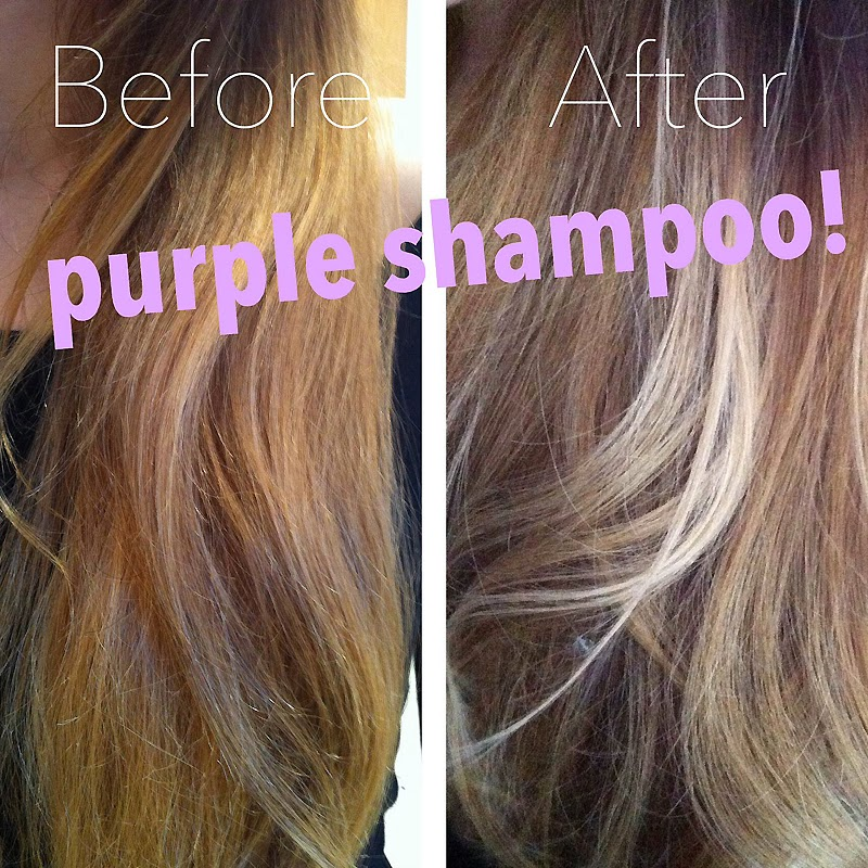Just one shampoo with purple shampoo makes an noticeable difference.